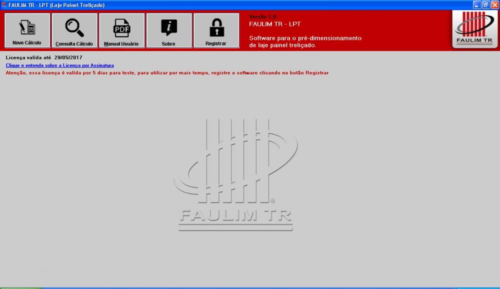 TR - LPT 1.0 - Licença Gratuita (5 dias) - Foto 1